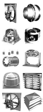 Blowers Fans - Sales of industrial fans & blowers, high pressure blowers, centrifugal fans, axial ventilators, roow and wall exhaust and supply fans, material handling blowers & radial fans, scroll cage fan ventilators, high temperature fans and blowers, New York Blower, Twin City Fan / Aerovent, Chicago Blower fans, Peerless Fans, Dayton Ventilators, Sheldons fans & blowers, Canarm Leader ventilators, IAP fans, Industrial Air.